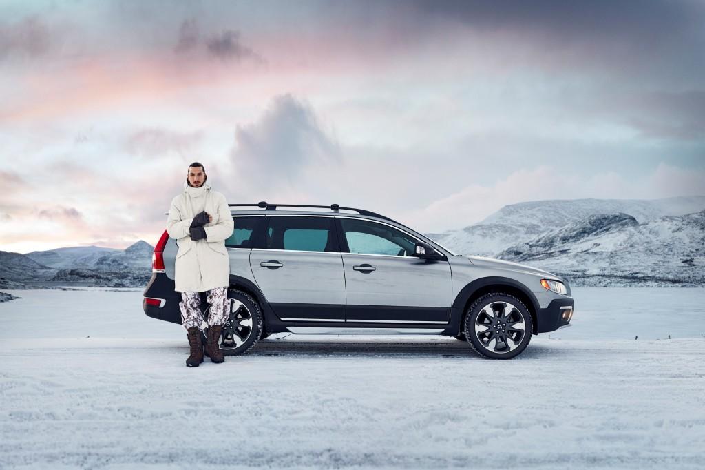 Volvo XC70, l'icona di Svezia celebrata da Zlatan Ibrahimovic e Max Martin
