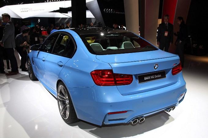 BMW M3 Berlina - Salone di Detroit 2014