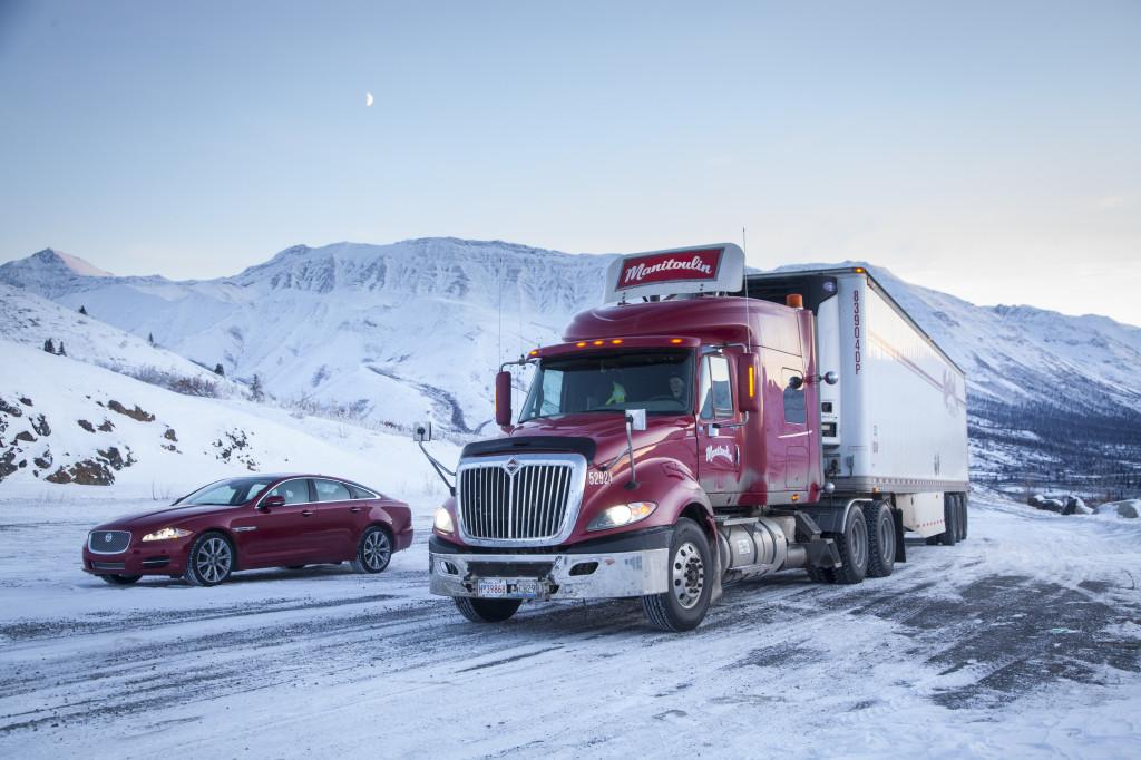 Jaguar XJ a prova di congelamento nella città più fredda del mondo