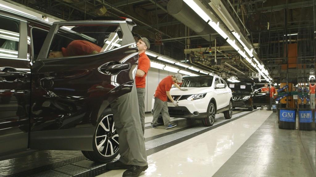 Nuovo Nissan Qashqai pronto a uscire dalle linee di produzione