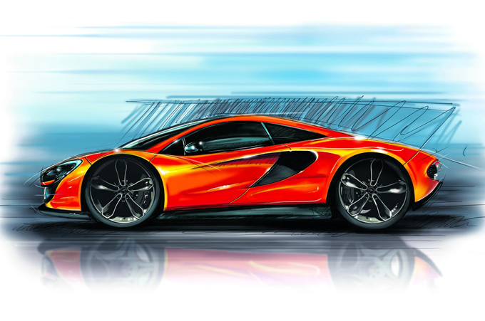 McLaren P13, l'entry level di Woking arriverà al Salone di Ginevra 2015