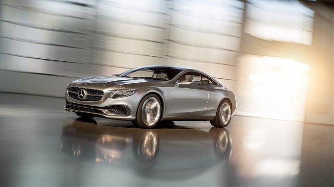 Mercedes Classe S Coupé, l'auto di serie a Ginevra?
