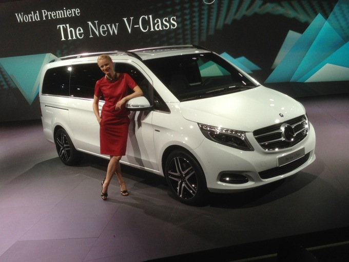 Mercedes Classe V MY 2014 - Debutto
