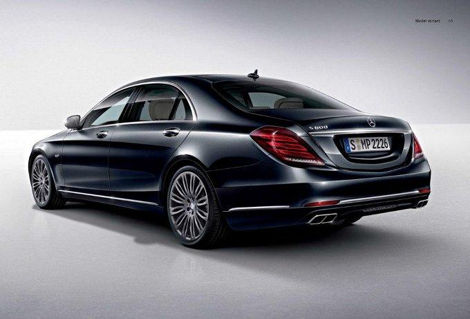 Mercedes S 600, ecco la prima immagine ufficiale