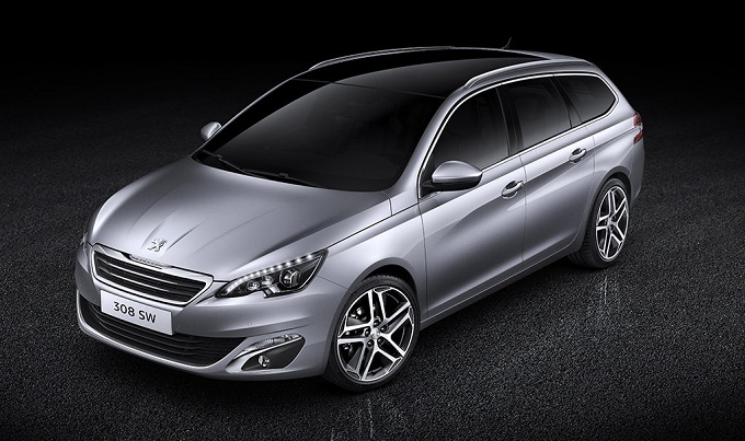 peugeot 308 station wagon prime immagini ufficiali della famigliare francese. Black Bedroom Furniture Sets. Home Design Ideas