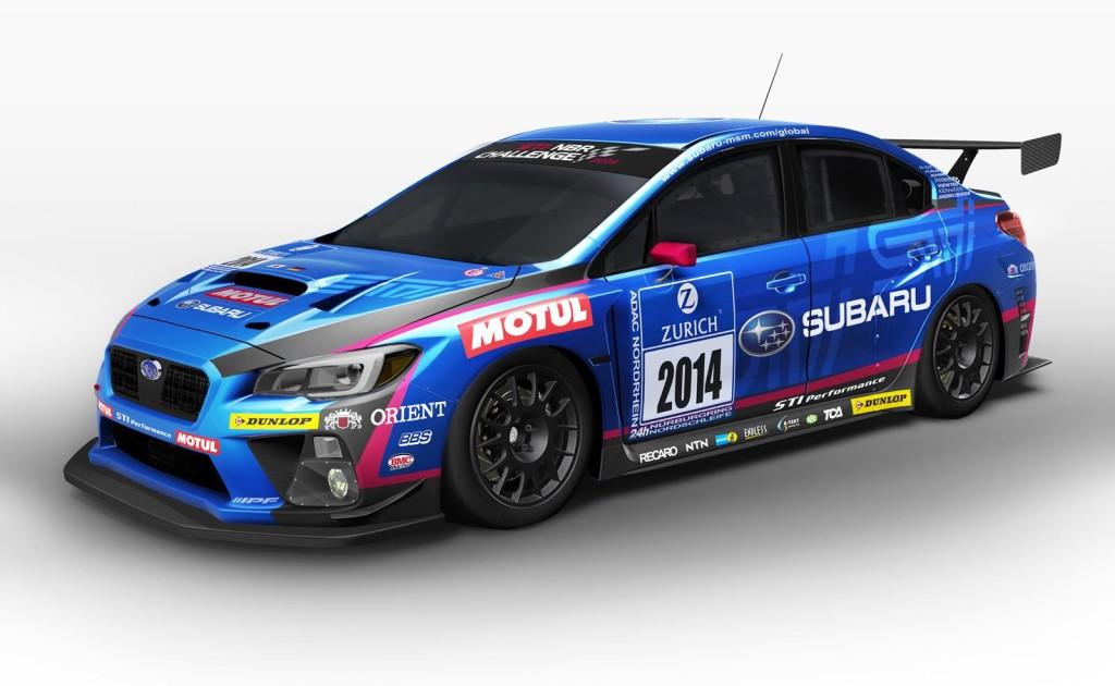 Subaru WRX STi, versione da gara per la 24 Ore del Nürburgring