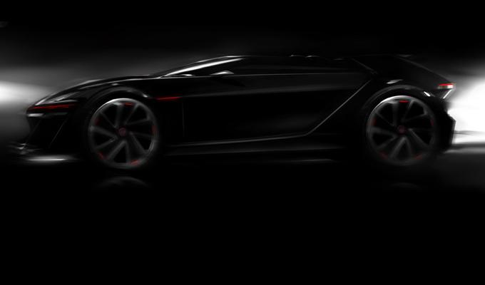 Volkswagen GT6 Vision Concept, pubblicato un nuovo teaser per la supercar dei videogiochi