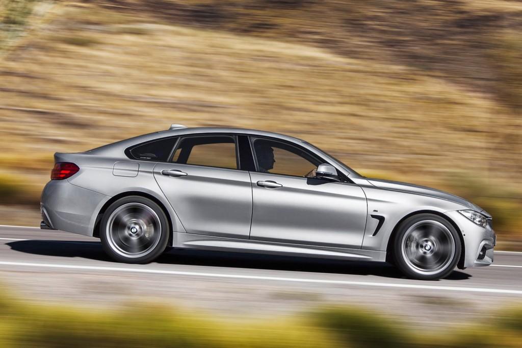 BMW Serie 4 Gran Coupé: i motori