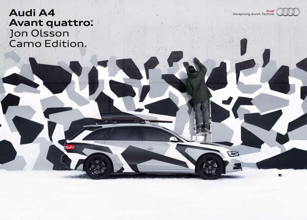 """Audi A4 Avant Camo Edition, nuova versione """"in mimetica"""""""