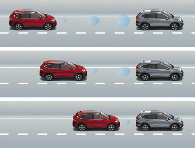 Honda CR-V al top della sicurezza con il sistema CMBS