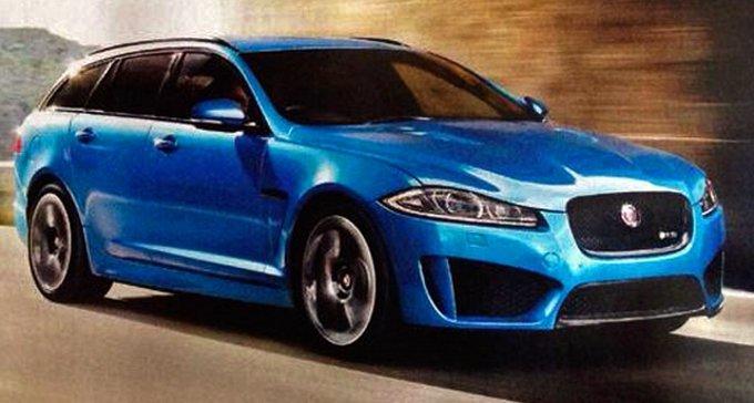 Jaguar XFR-S Sportbrake: prima immagine ufficiale?