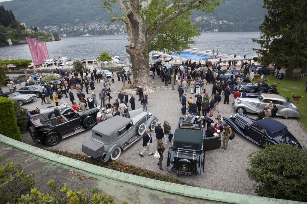Concorso d'Eleganza Villa d'Este 2014: festa per il compleanno di Rolls-Royce