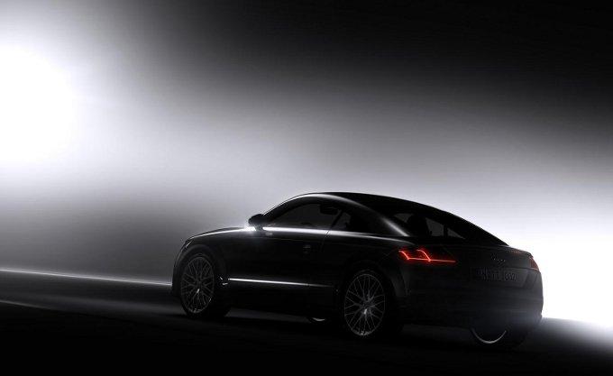 Audi TT 2015, rilasciata una nuova immagine teaser ufficiale