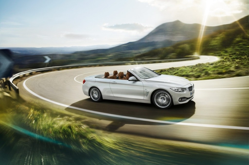 "BMW Serie 4 Cabrio, sportività e classe ""open air"""