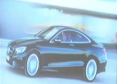 Mercedes Classe S Coupé, compare la prima immagine ufficiale