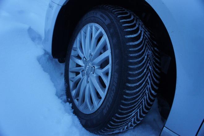 Højmoderne Michelin Alpin 5, per la neve, ma soprattutto per l'inverno GW-04