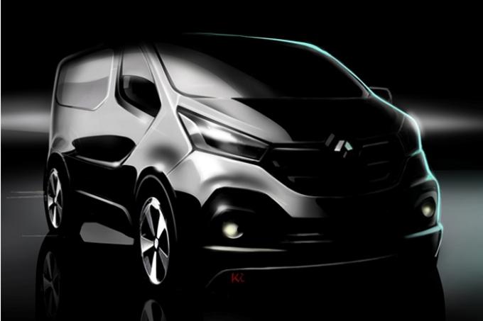 Nuovo Renault Trafic: Il bozzetto ufficiale