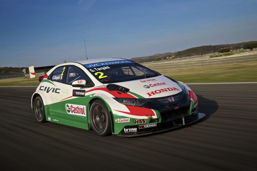 Honda Civic WTCC 2014 gonfia i muscoli in vista del via al campionato