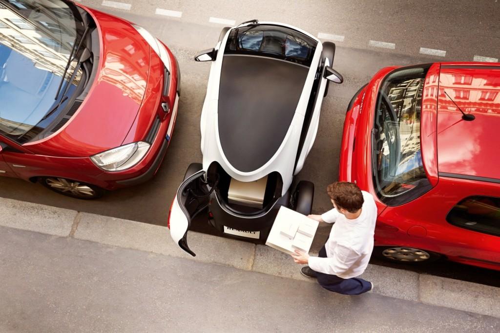Renault Twizy Cargo, il piccolo veicolo elettrico per le aziende arriva sul mercato