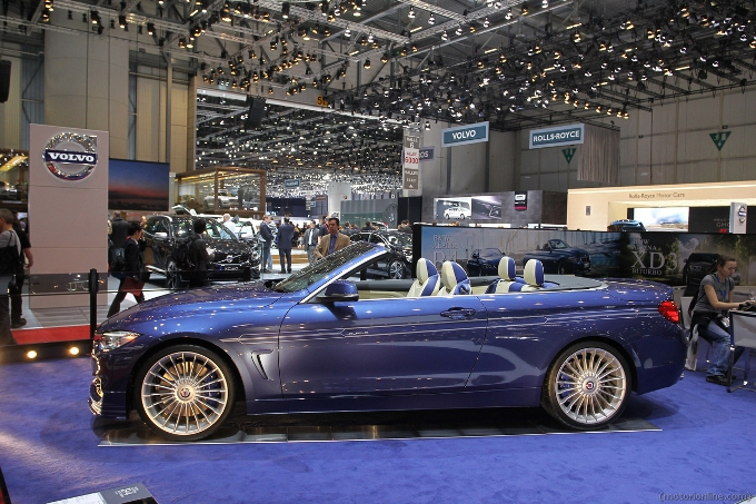Alpina B4 Bi Turbo - Salone di Ginevra 2014