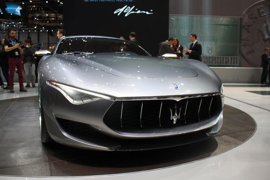 Maserati Alfieri - Salone di Ginevra 2014