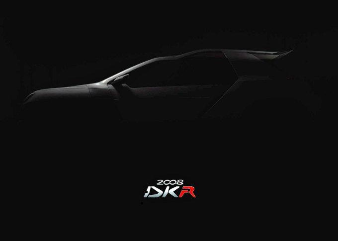Peugeot 2008 DKR, teaser della vettura che competerà nel rally Dakar