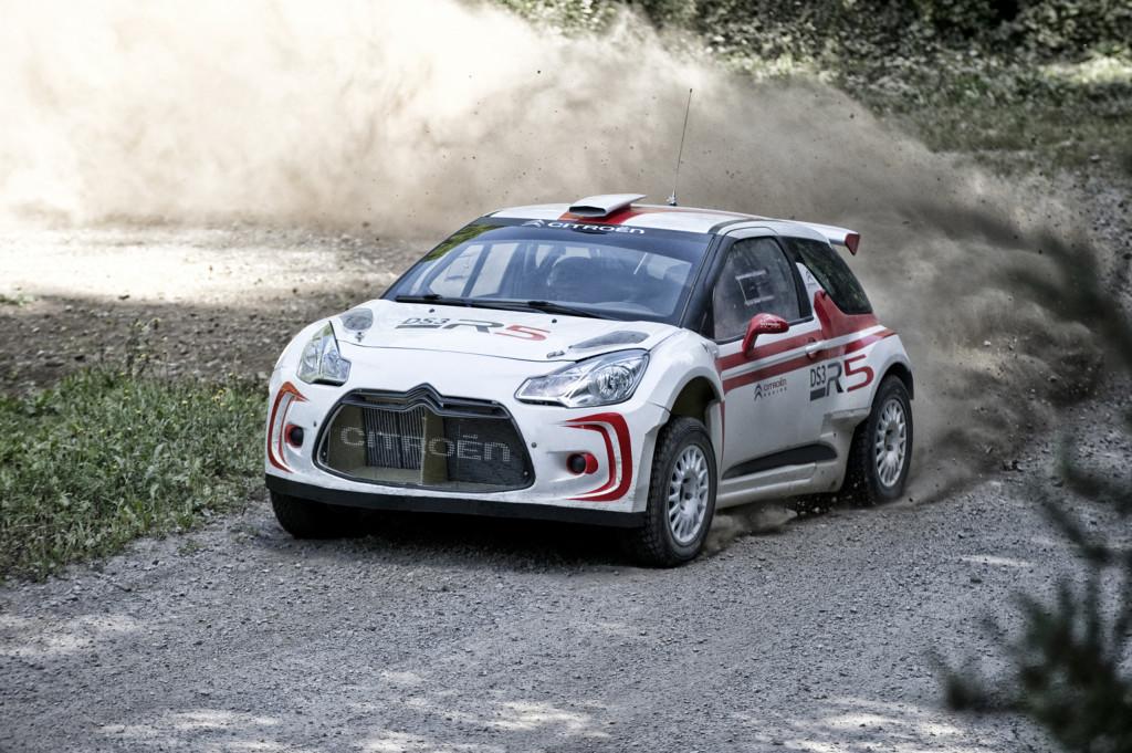 Citroen DS3 R5, la vettura da Rally debutta in Italia