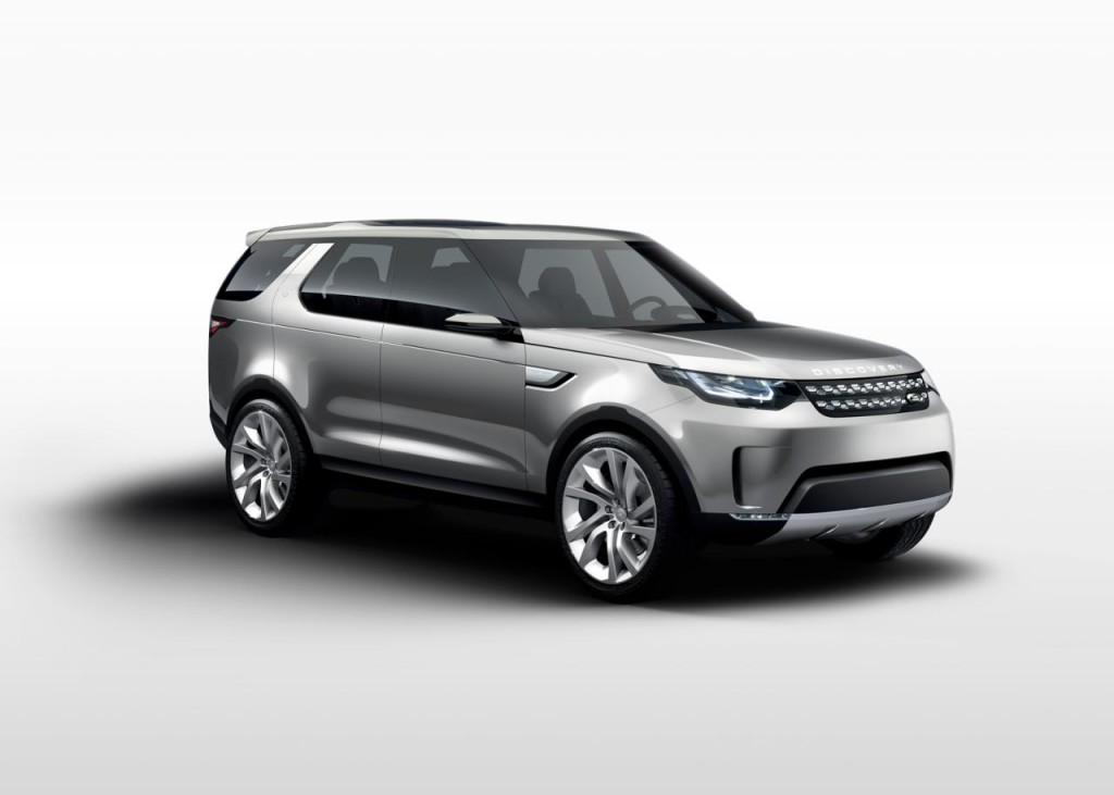 land rover discovery vision concept svelato il nuovo suv britannico. Black Bedroom Furniture Sets. Home Design Ideas