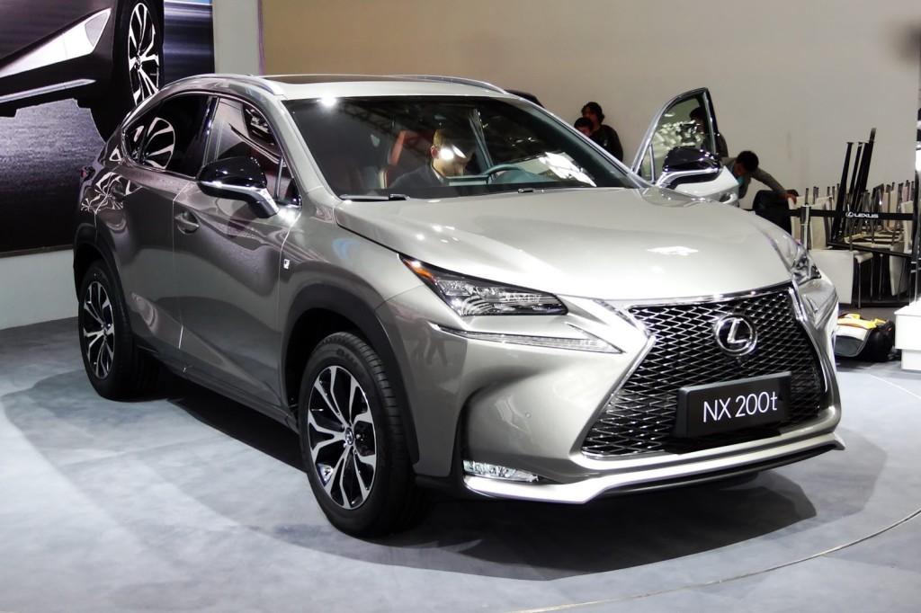 Lexus NX - Salone di Pechino 2014