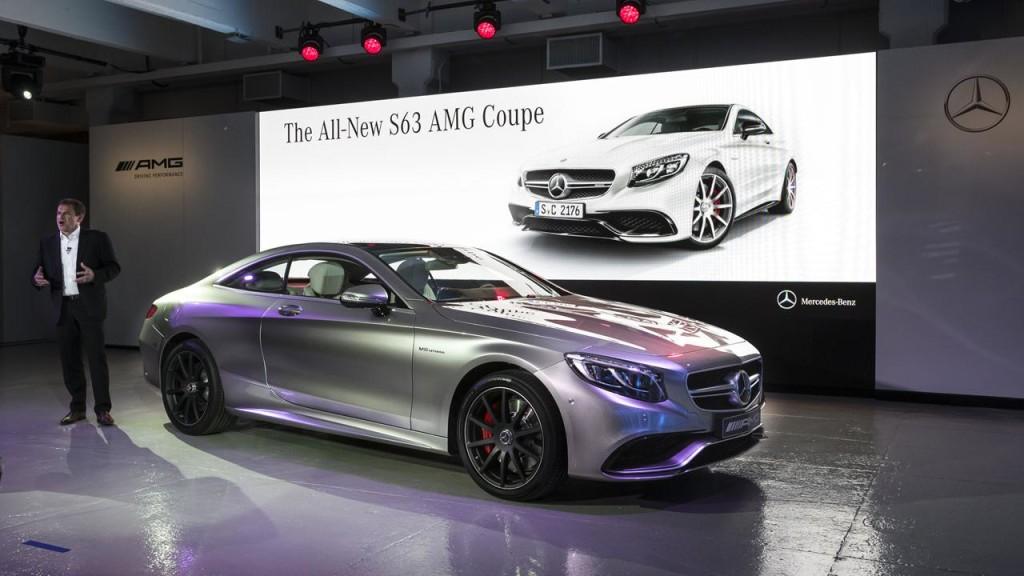 Mercedes S63 AMG Coupe 2014 - Salone di New York 2014