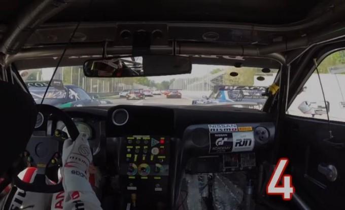 Nissan GT-R Nismo, primo giro da record a Monza con 17 sorpassi in gara