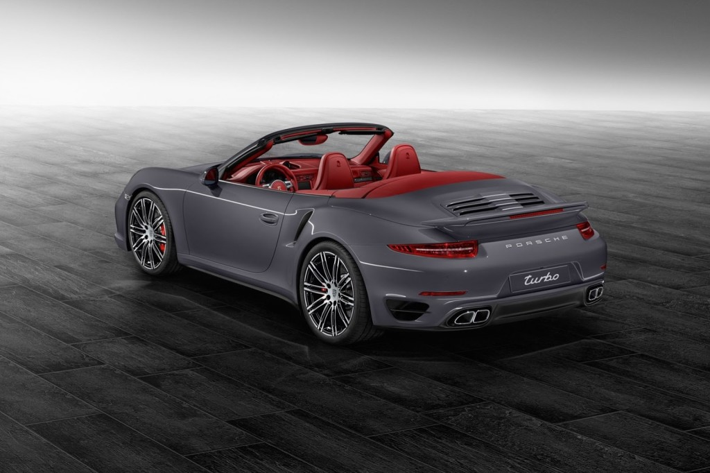 Porsche 911 Turbo Cabriolet Porsche Exclusive