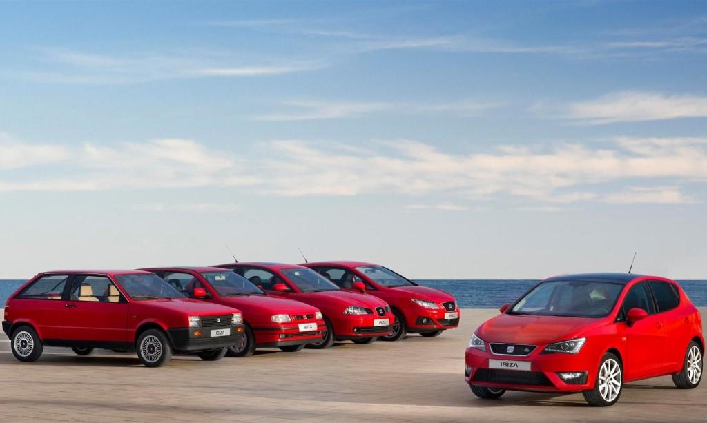 SEAT Ibiza, la best-seller festeggia i 30 anni in giro per l'Europa