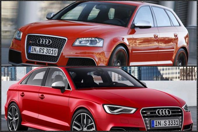 Audi RS3, una nuova generazione forse in arrivo al Salone di Parigi 2014