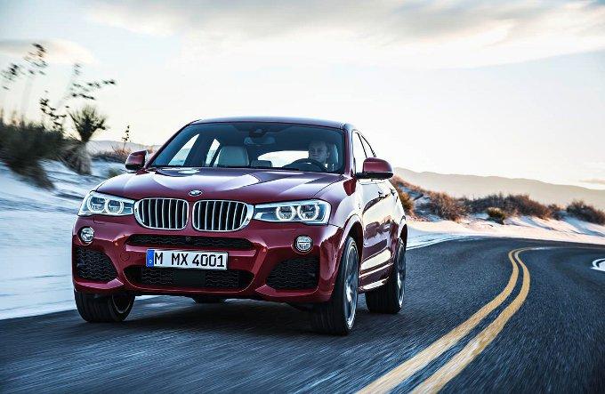BMW X4, parte la produzione del crossover sportivo
