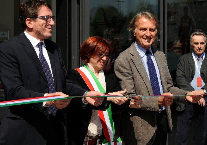 Inaugurata dal presidente Luca di Montezemolo la nuova area del Museo Ferrari di Maranello