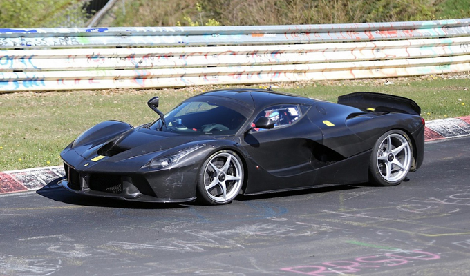 LaFerrari XX, l'estrema di Maranello ha già battuto un record al Nürburgring?