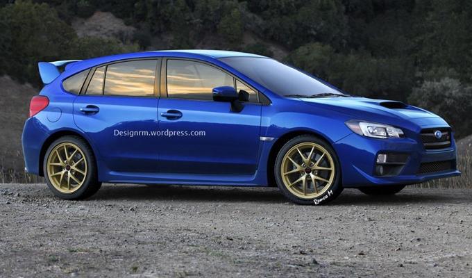 Subaru WRX 2015, ancora possibile la produzione del modello hatchback a cinque porte