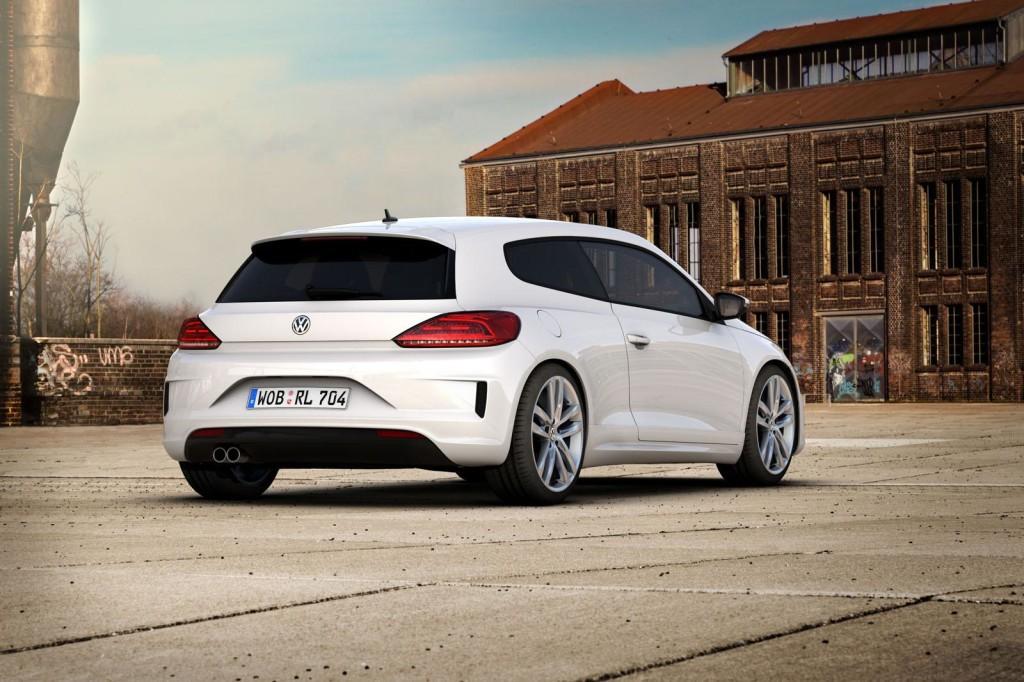 Volkswagen Scirocco e Golf Variant R-Line