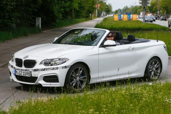 BMW Serie 2 Cabrio 2015 - Foto spia 08-05-2014
