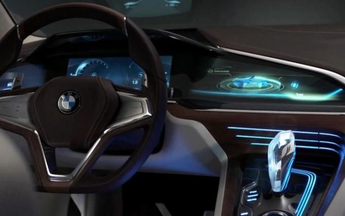 BMW Vision Future Luxury Concept, lusso e tecnologie futuristiche