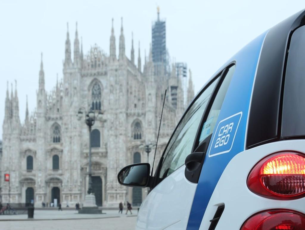 """Car2go premiata come soluzione di mobilità più """"smart"""" al Roma Motor Show 2014"""