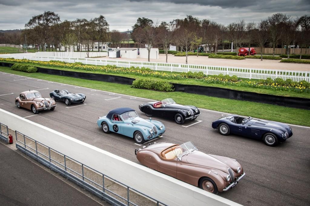 Jaguar alla Mille Miglia 2014 con dieci icone e un team piloti d'eccezione