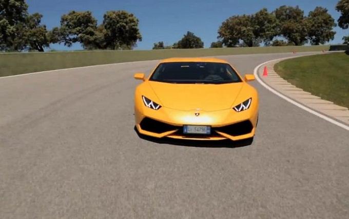 Lamborghini Huracan, primo test drive ufficiale per il bolide del Toro