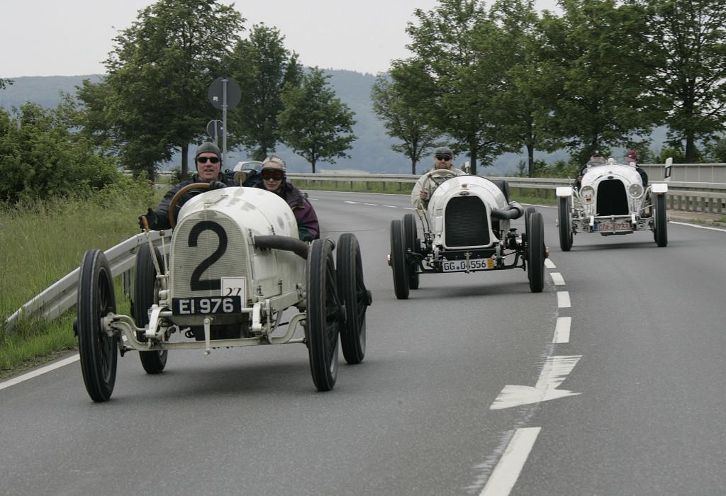 Opel torna al Grand Prix de Lyon con le tre storiche vetture di un secolo fa