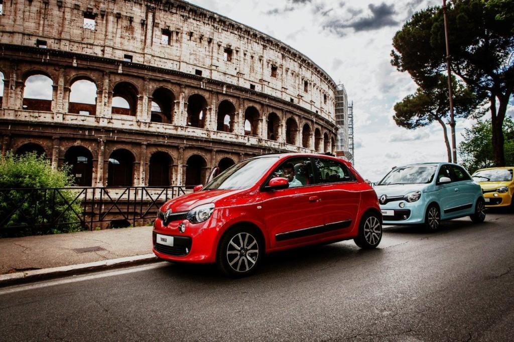 Nuova Renault Twingo, via al tour europeo della city car francese