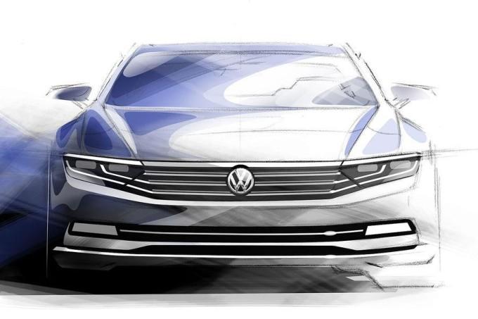 Volkswagen Passat 2015 - Bozzetti