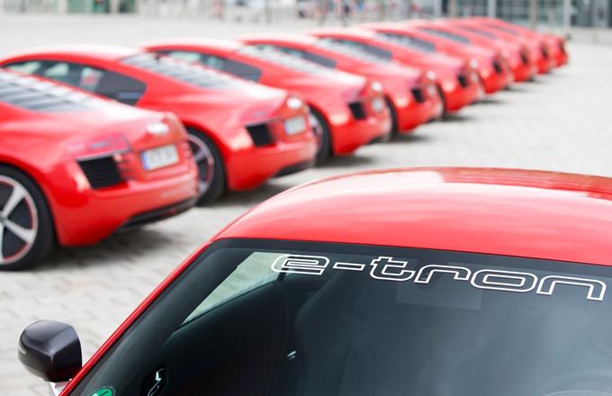 Audi: la gamma e-tron potrebbe allargarsi a tutti i modelli