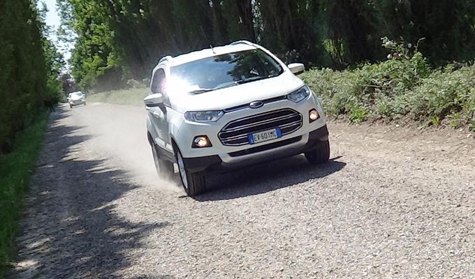 Ford EcoSport, primo contatto