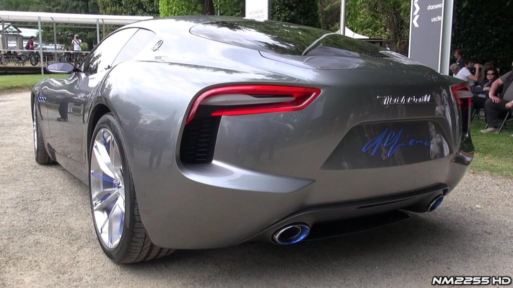 Villa d'Este 2014: Maserati Alfieri Concept, sentite che sound!